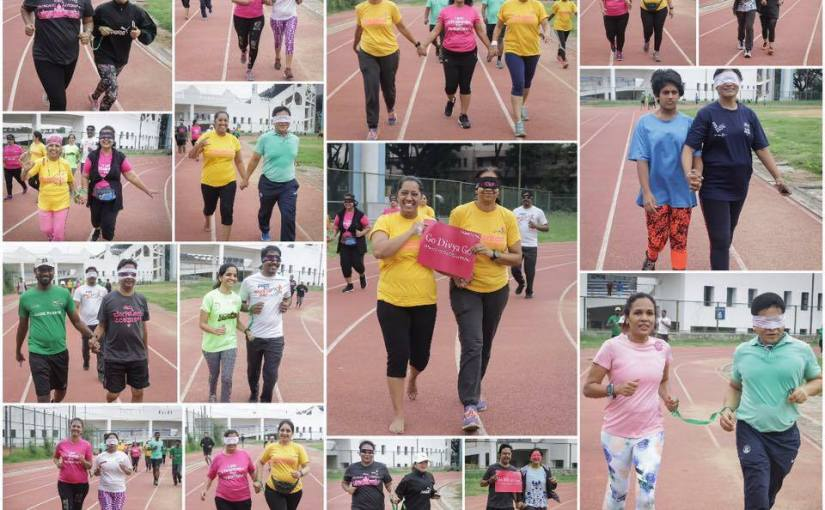 Visually impaired Training-Highlights