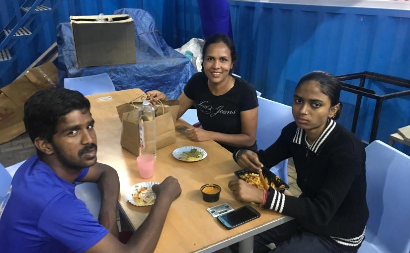 Kavya lost her eyesight due to stone injury while playing as achild